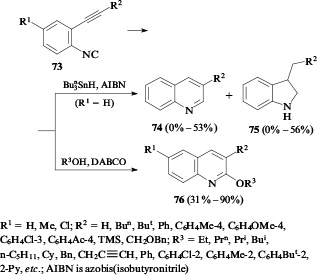 Synthesis of (iso)quinoline, (iso)coumarin and (iso)chromene