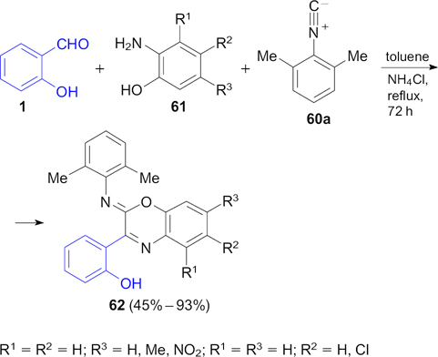 Salicylaldehydes as privileged synthons in multicomponent
