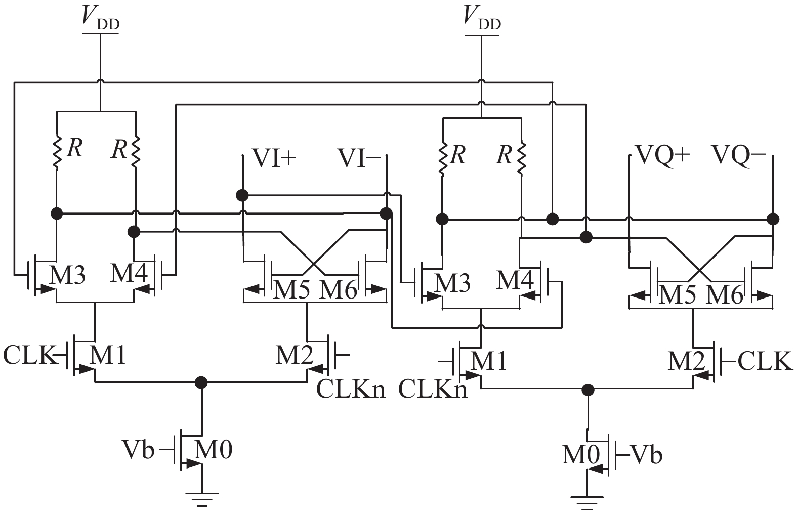 A Fractional N Frequency Divider For Multi Standard Wireless Single Chip Circuit Fig 6