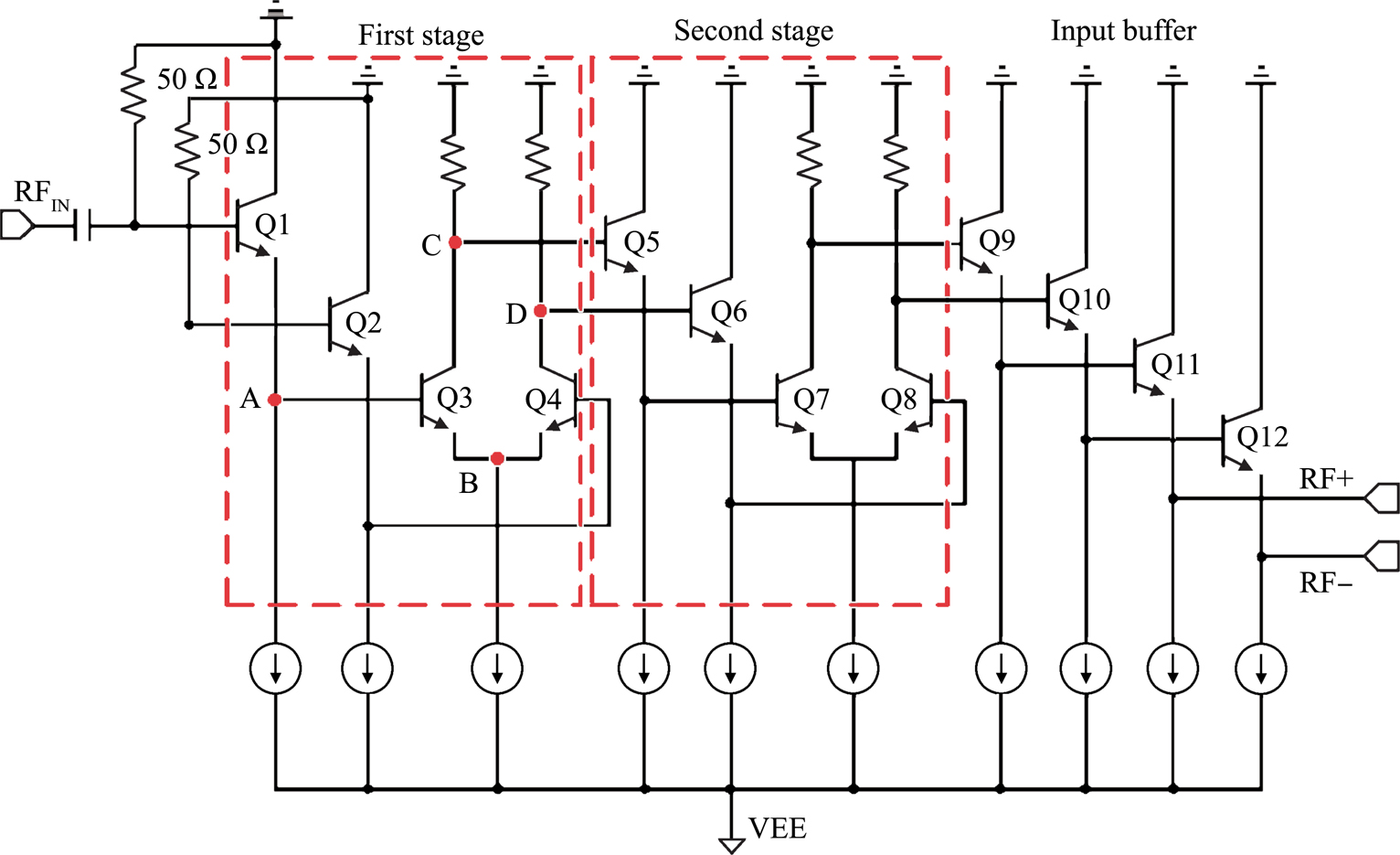 A 75 Ghz Regenerative Dynamic Frequency Divider With Active Rf Buffer Stage Figure 3